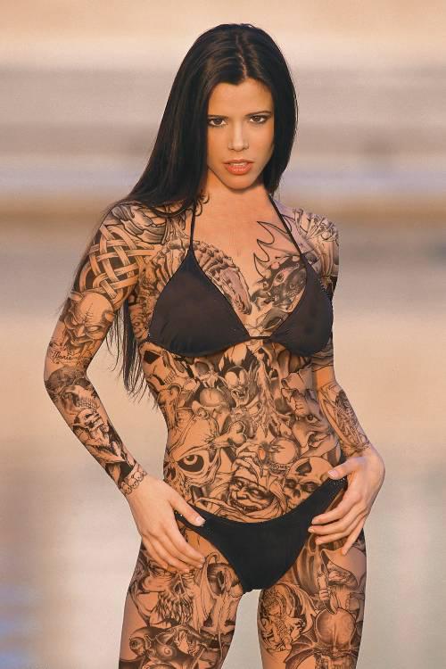 Sexy tattoo girls Nude Photos 53
